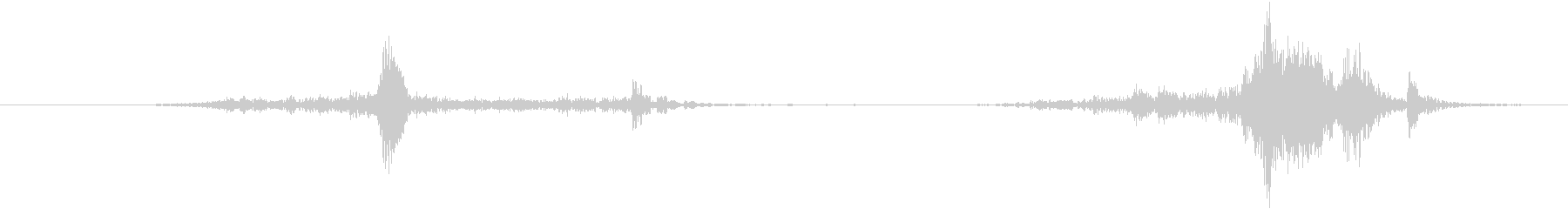 Addressograph:スライ...の未再生の波形