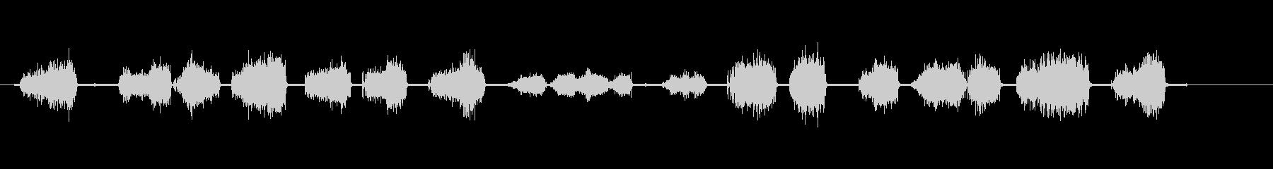 グラインダー-電気-金属上-楽器の未再生の波形