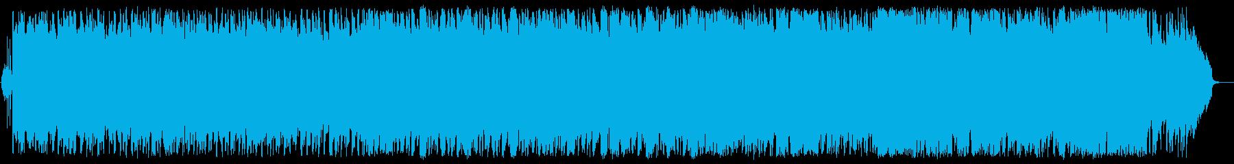 大空を飛翔する壮大爽快オーケストラポップの再生済みの波形