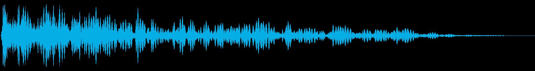 ヘビースペースクルクルエクスプロージョンの再生済みの波形