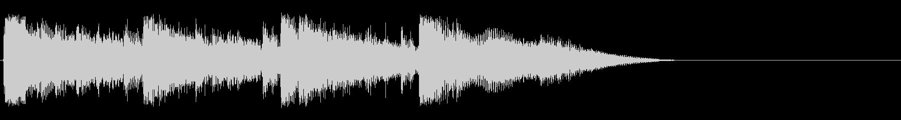 シネマティック ライフスタイルの未再生の波形