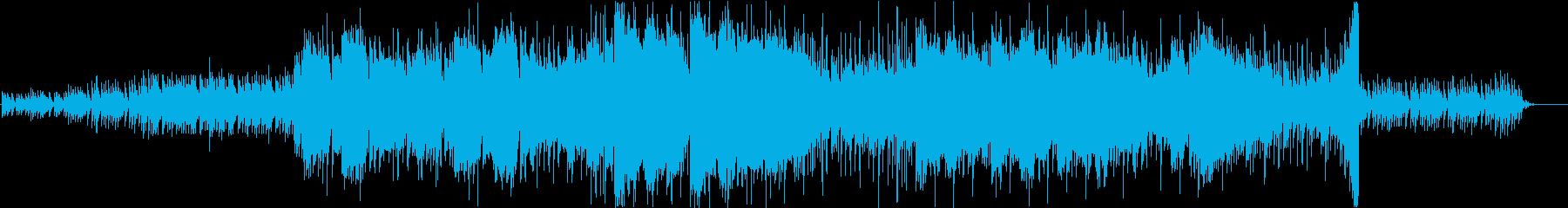 エスニックな木琴と笛のミニマルな楽曲の再生済みの波形