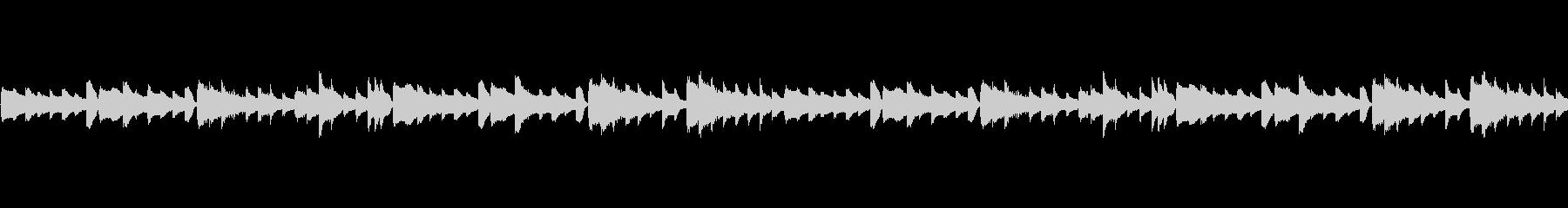ピアノループ/ダーク/ビートサンプル#3の未再生の波形