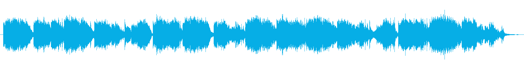 唱歌「荒城の月」綺麗な篠笛生演奏の再生済みの波形