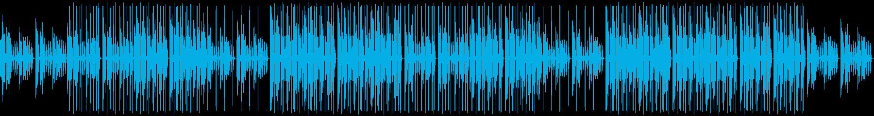 ピアノがソウルフルな都会的なトラップの再生済みの波形