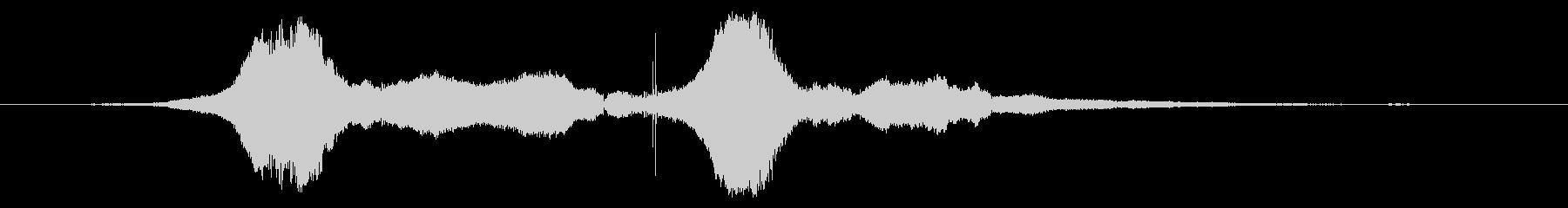 スーパーストック:速い速度で2つの...の未再生の波形