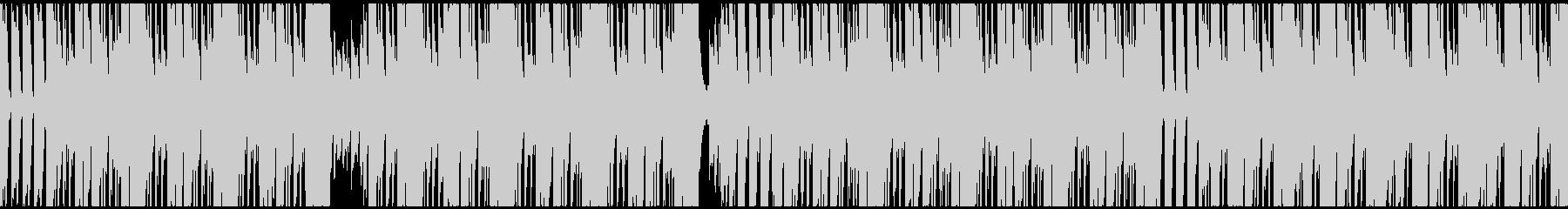 lofiでミニマルなBGMの未再生の波形