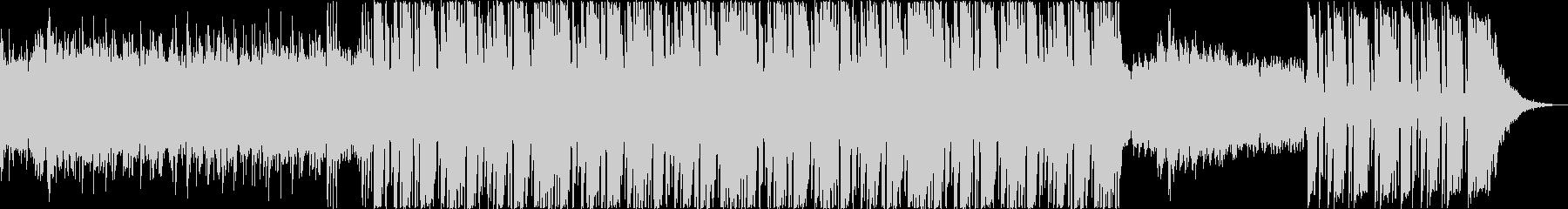 実験的。エフェクトとシンセとピアノ...の未再生の波形