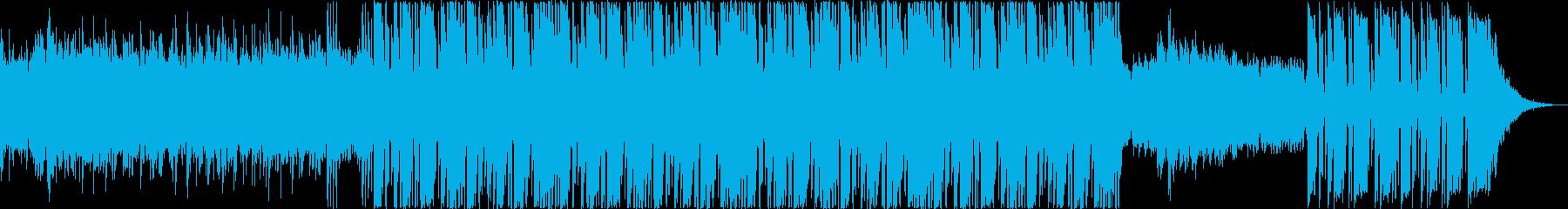 実験的。エフェクトとシンセとピアノ...の再生済みの波形