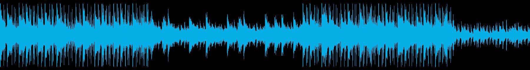 ループ企業BGMなどに明るくシンプルな曲の再生済みの波形