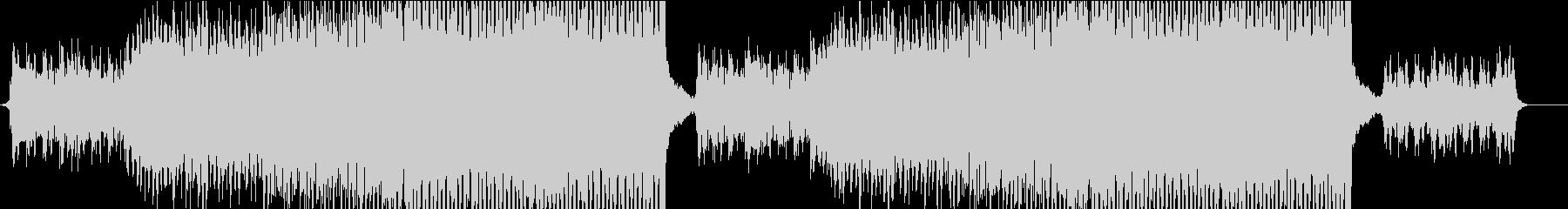 ボーカルチョップを使った明るいEDMの未再生の波形