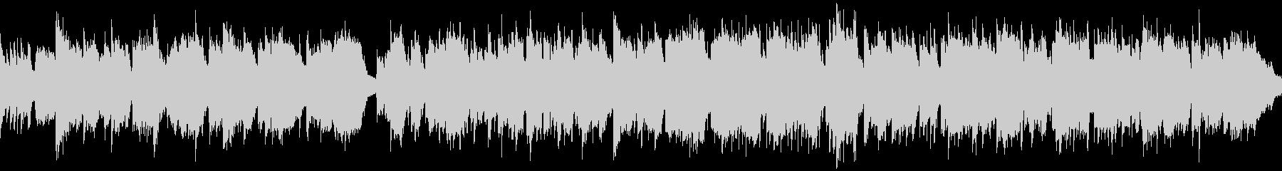 篠笛生演奏の和風バラード ※ループ仕様版の未再生の波形