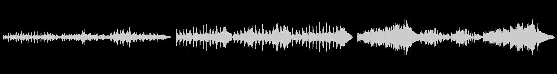 モーツァルト きらきら星より③(ピアノ)の未再生の波形