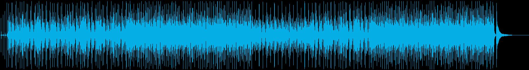 穏やか軽快なアコースティックポップ♫の再生済みの波形