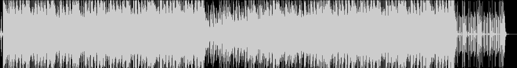 王道な雰囲気の洋楽風HIPHOPの未再生の波形