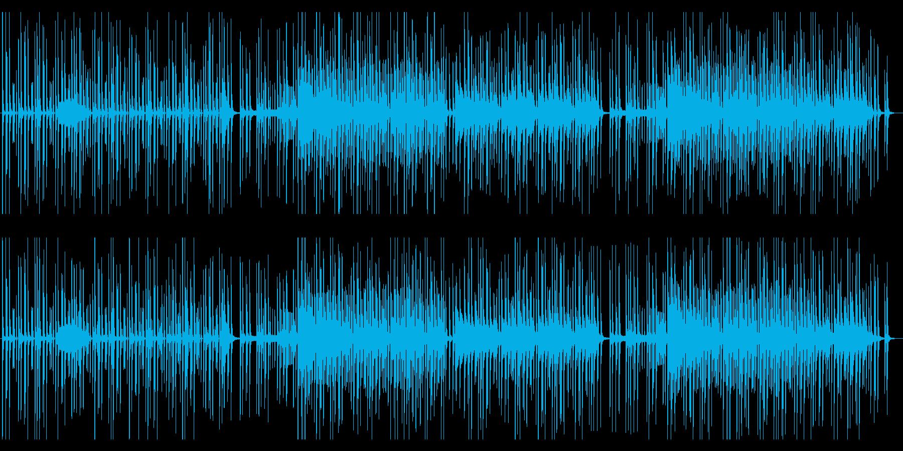 ほのぼの 可愛いPopsの再生済みの波形