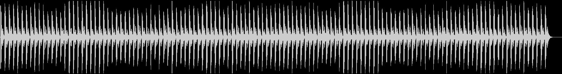 無機質な反復を繰り返すピアノです。の未再生の波形