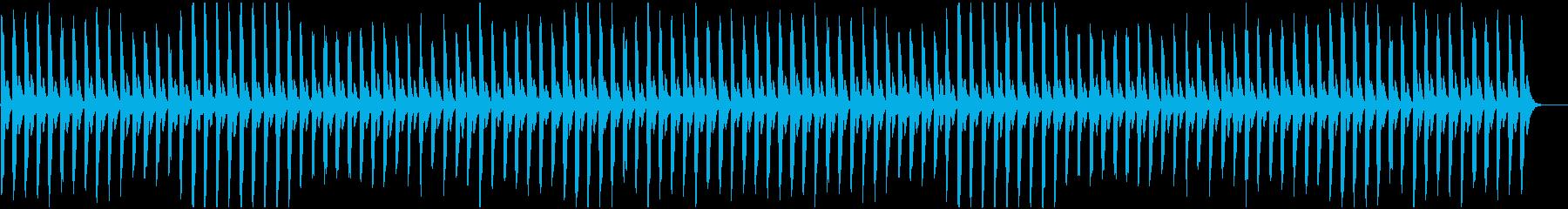 無機質な反復を繰り返すピアノです。の再生済みの波形