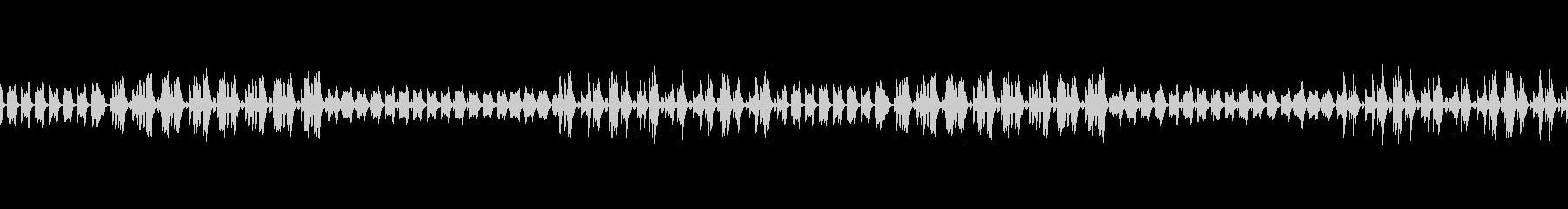 ラジオや雑談配信の可愛いエレクトBGMの未再生の波形