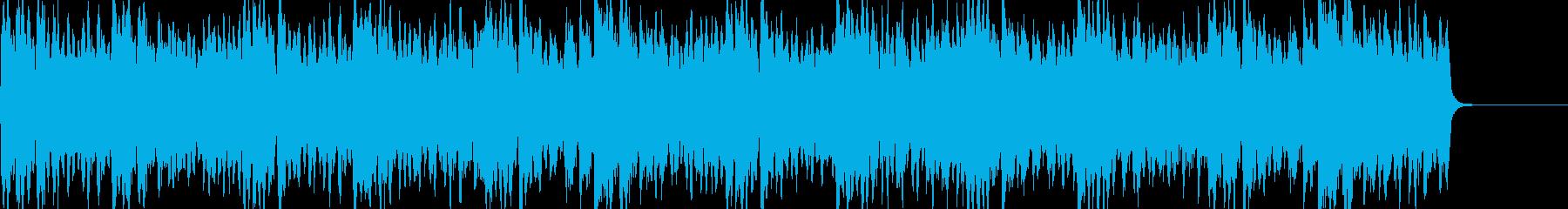 スティーヴ・ライヒ風ミニマルミュージックの再生済みの波形