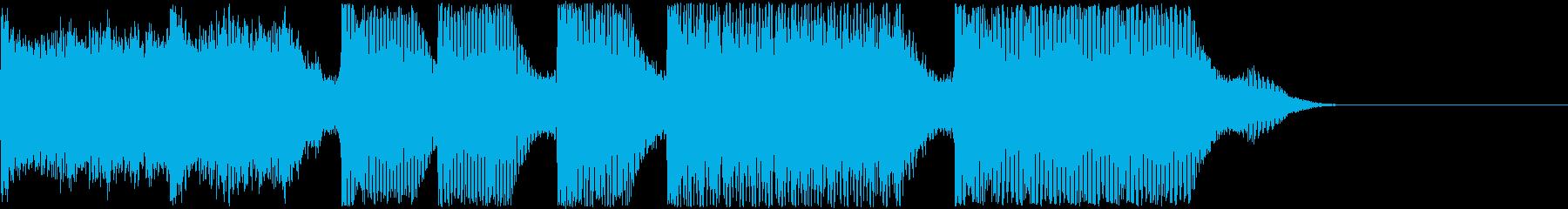 AI メカ/ロボ/マシン動作音 14の再生済みの波形