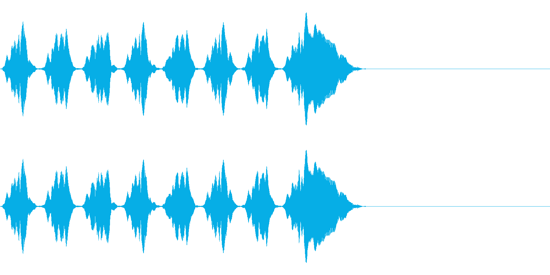 KANニャニャニャ自主規制音4shortの再生済みの波形