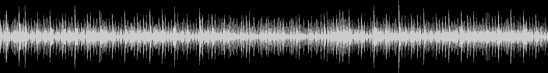 アップテンポなレトロゲームのBGMです。の未再生の波形