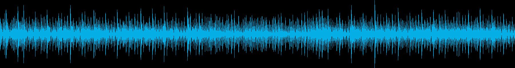 アップテンポなレトロゲームのBGMです。の再生済みの波形