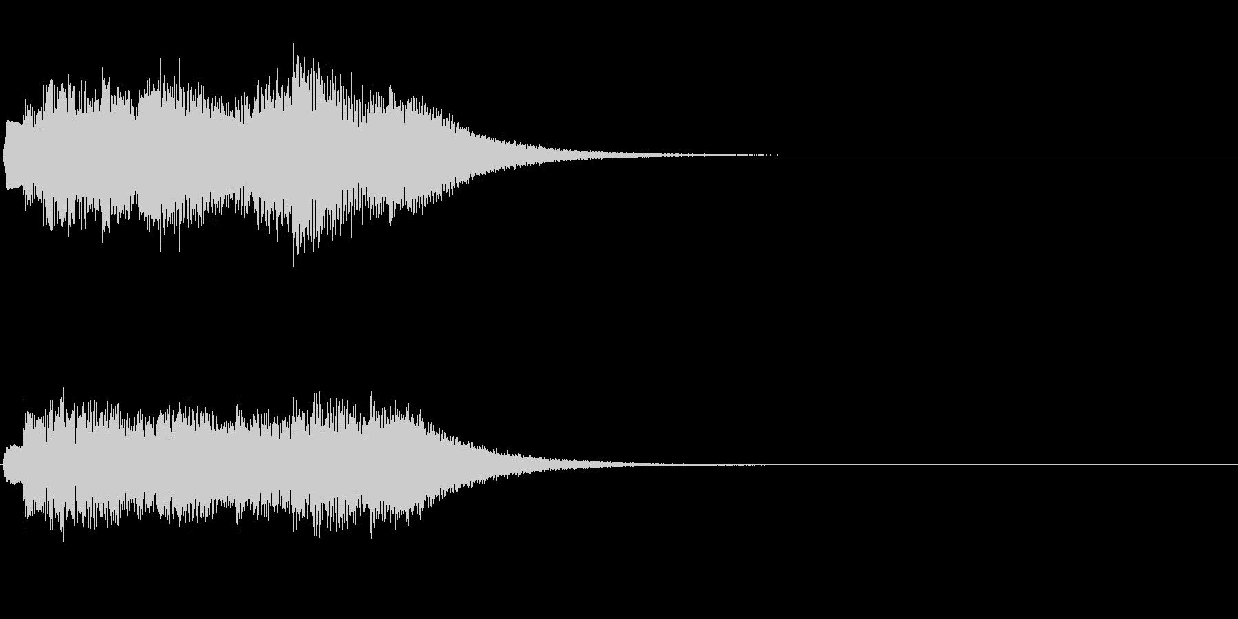 (チェレスタアルペジオ風)キラキラキラ…の未再生の波形