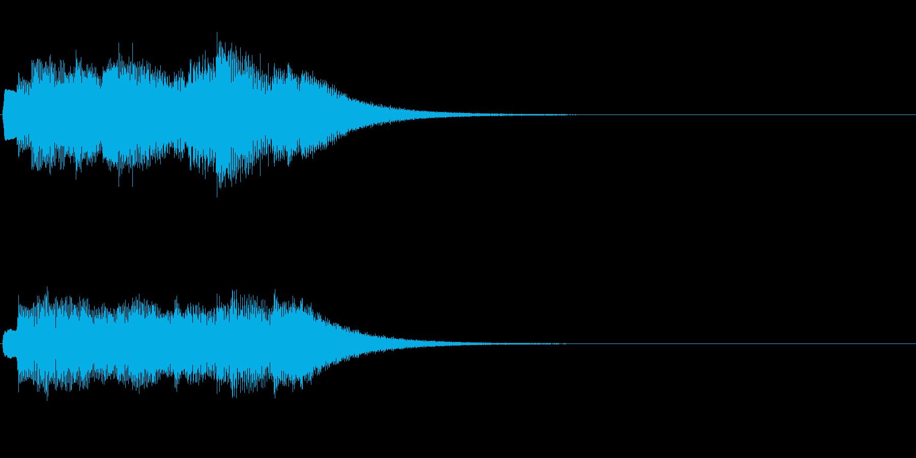 (チェレスタアルペジオ風)キラキラキラ…の再生済みの波形