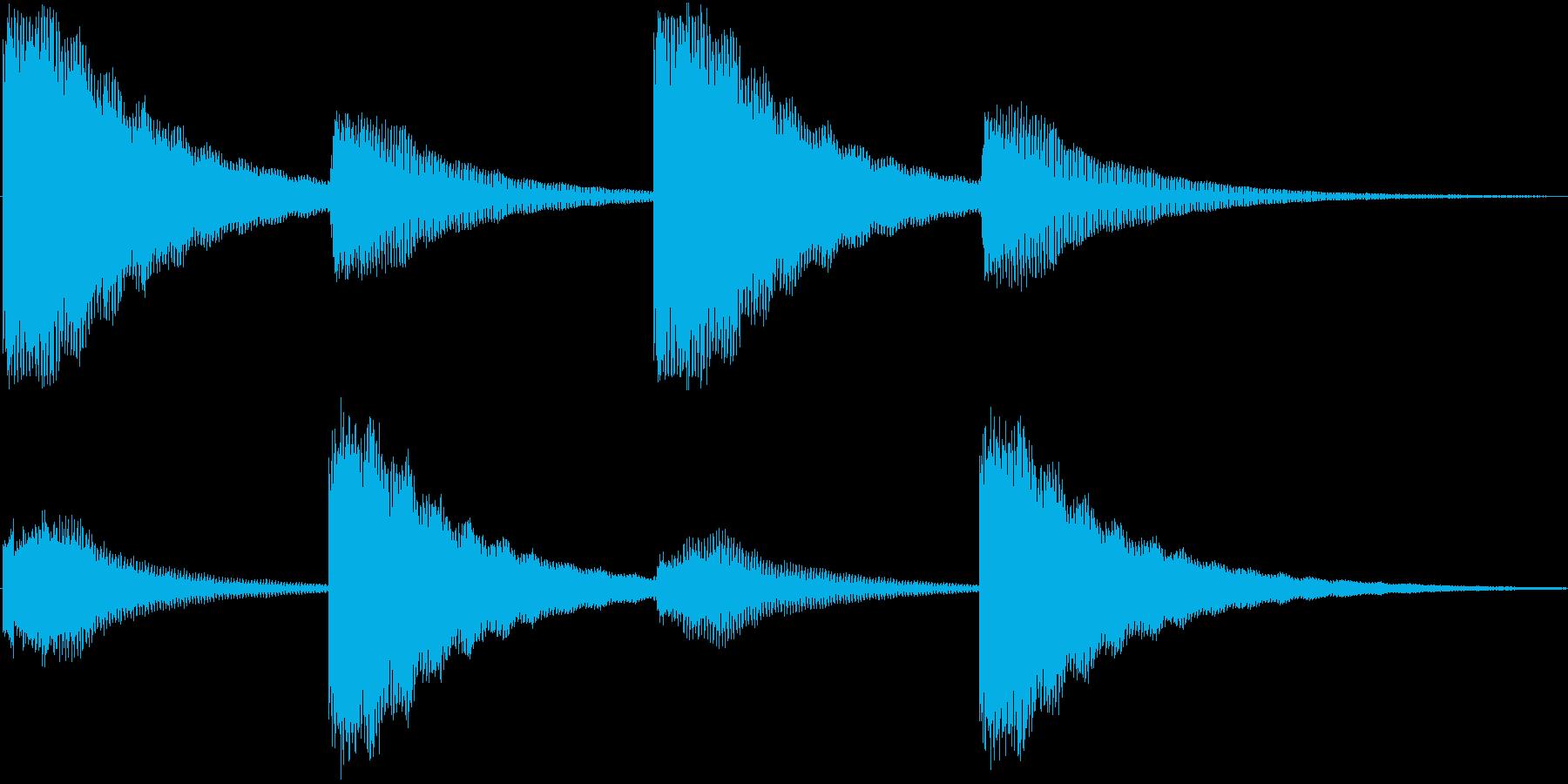 鐘の音でホラー系にも使えますの再生済みの波形