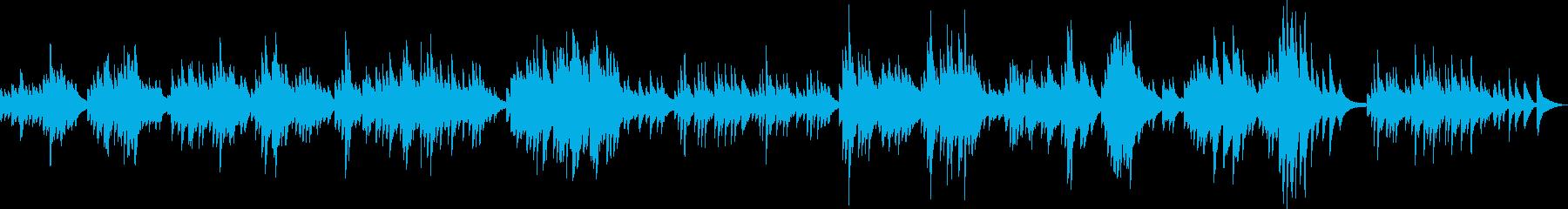 広大な草原を散歩するようなピアノBGMの再生済みの波形