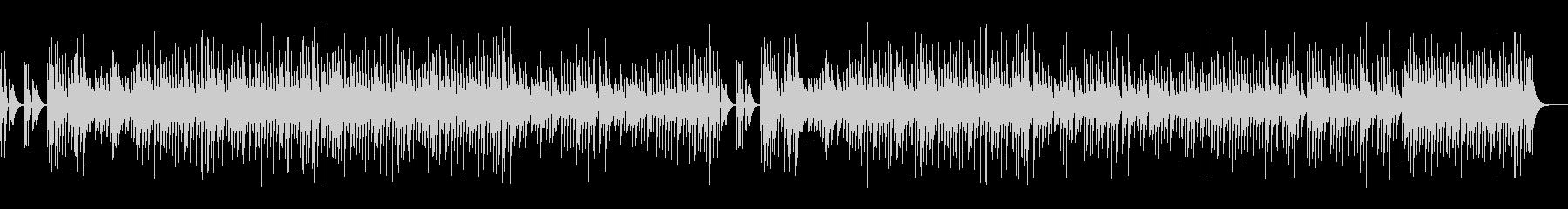 木琴のスイート&ビターな楽曲の未再生の波形