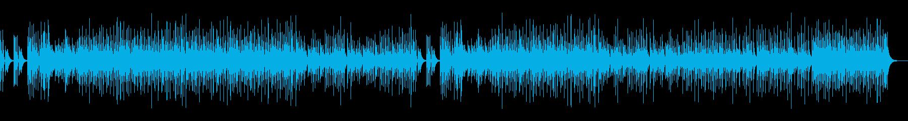 木琴のスイート&ビターな楽曲の再生済みの波形