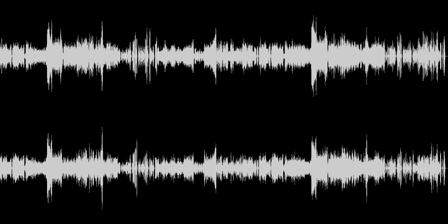 シューベルト「ピアノソナタ変ロ長調」の未再生の波形