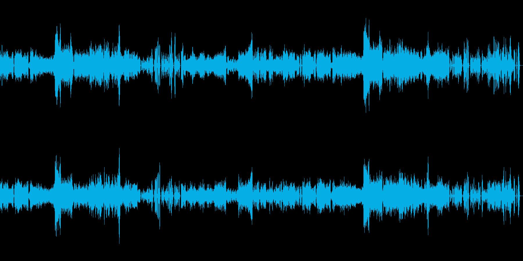 シューベルト「ピアノソナタ変ロ長調」の再生済みの波形