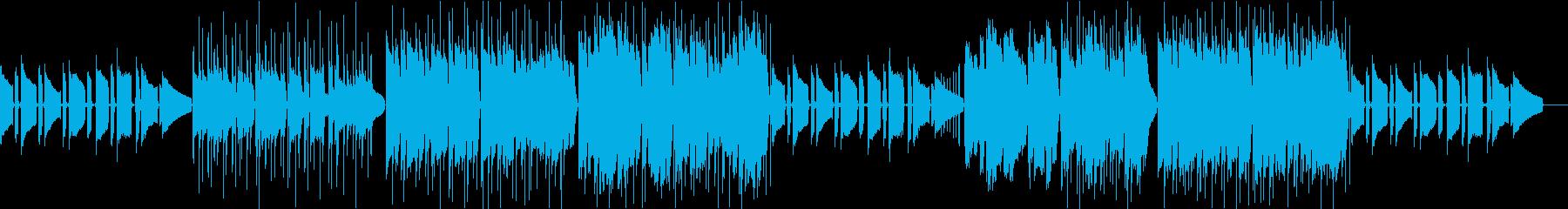 ギターと女性声のチルでLoFiなビートの再生済みの波形