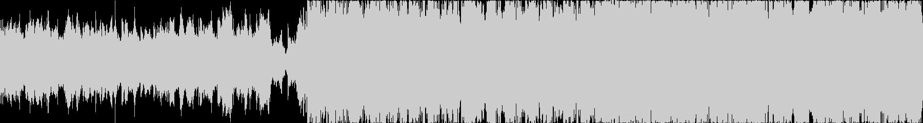 【ループ仕様】しっとりしたBGM風楽曲の未再生の波形
