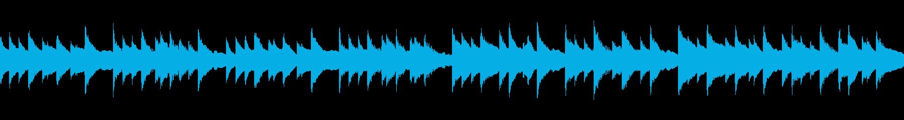 【主張しない背景音楽】優しさ1【ループ】の再生済みの波形