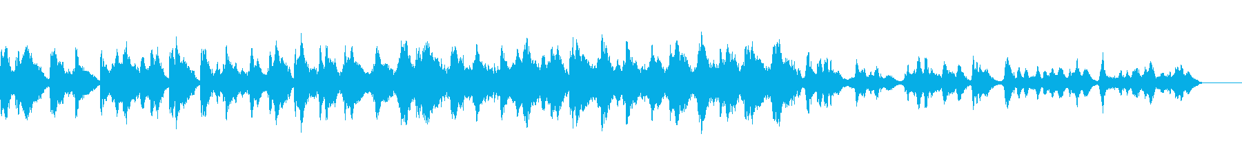 A peaceful Chinese folk song's reproduced waveform