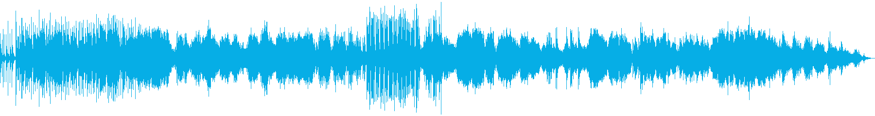 【生入り】和風でしんみり、祇園祭り風の再生済みの波形