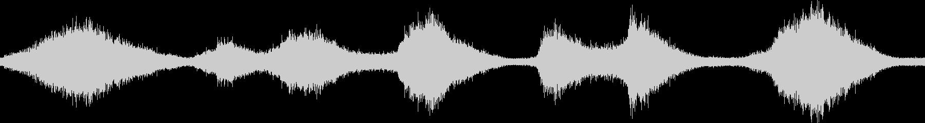 迫力・壮大・幻想的な波音 徳島  ループの未再生の波形
