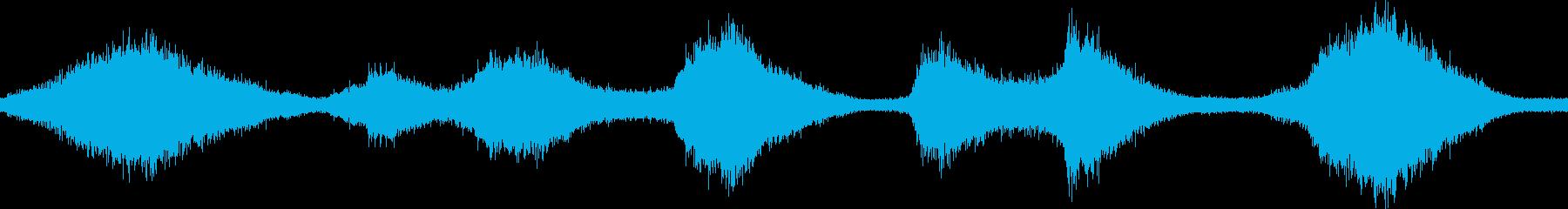 迫力・壮大・幻想的な波音 徳島  ループの再生済みの波形