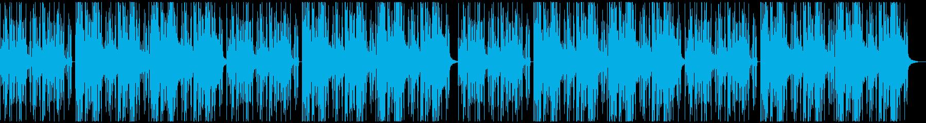 【チル】ゆったりとしたBGM・5の再生済みの波形