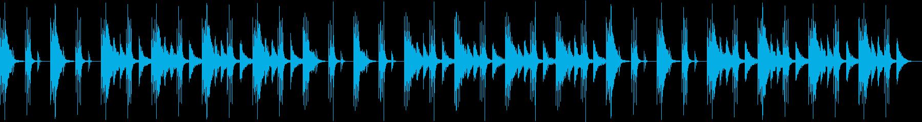 ハープ特有の優しい響きが心落ち着くの再生済みの波形