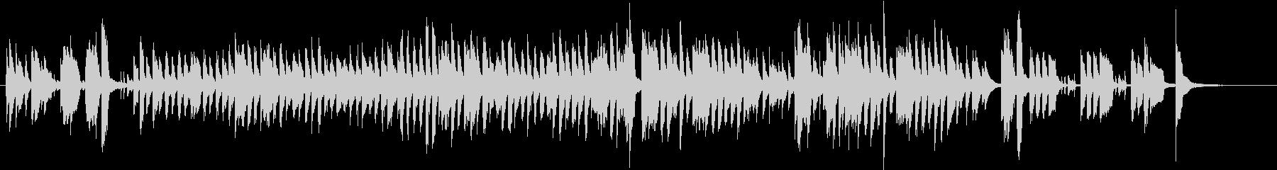 楽しいBGM(ドビッシーケルクウォーク)の未再生の波形