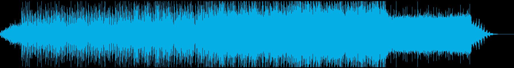 情報番組・天気予報など向け軽めのトランスの再生済みの波形