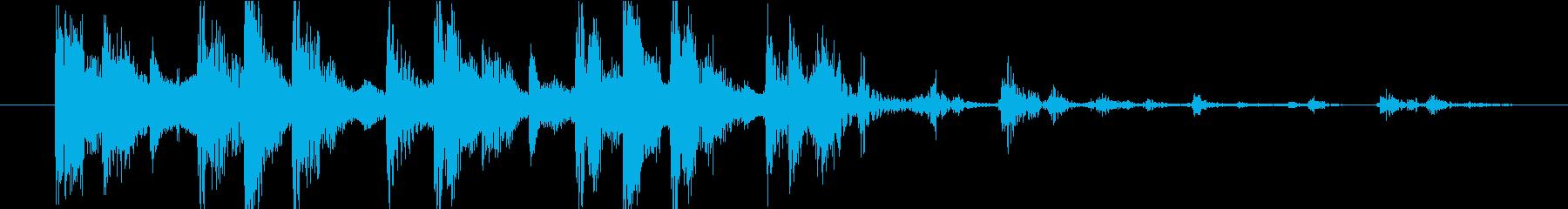 ファンキーなディープステップ/ダブ...の再生済みの波形