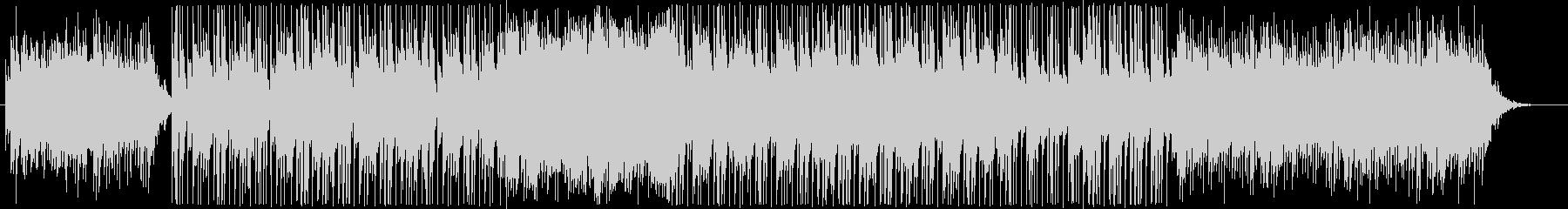 スローテンポのやさしいBGMの未再生の波形