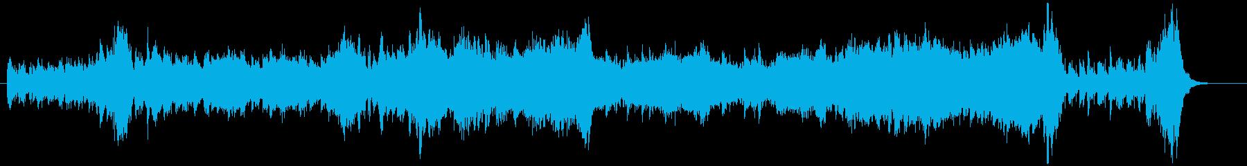 弦楽器の華やかなオープニングの再生済みの波形